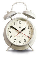 Covent Garden Alarm Clock - Linen White