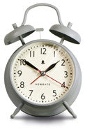 Covent Garden Alarm Clock - Overcoat Grey design by Newgate