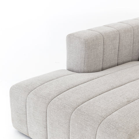 Langham Channelled 3-Pc Laf Sect W/ Ottoman