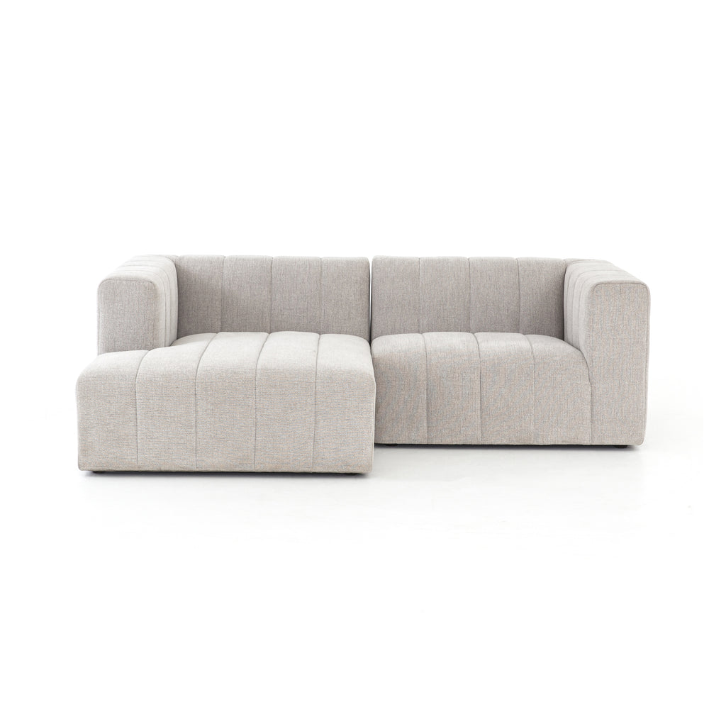Langham Channelled 2-Pc Sectional-Laf Ch by BD Studio
