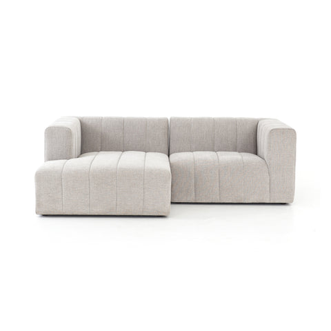 Langham Channelled 2-Pc Sectional-Laf Ch