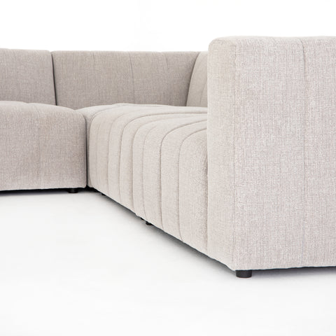Langham Channelled 6 Pc Sectional Laf Ch