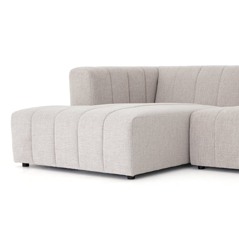Langham Channelled 5 Pc Sectional Laf Ch