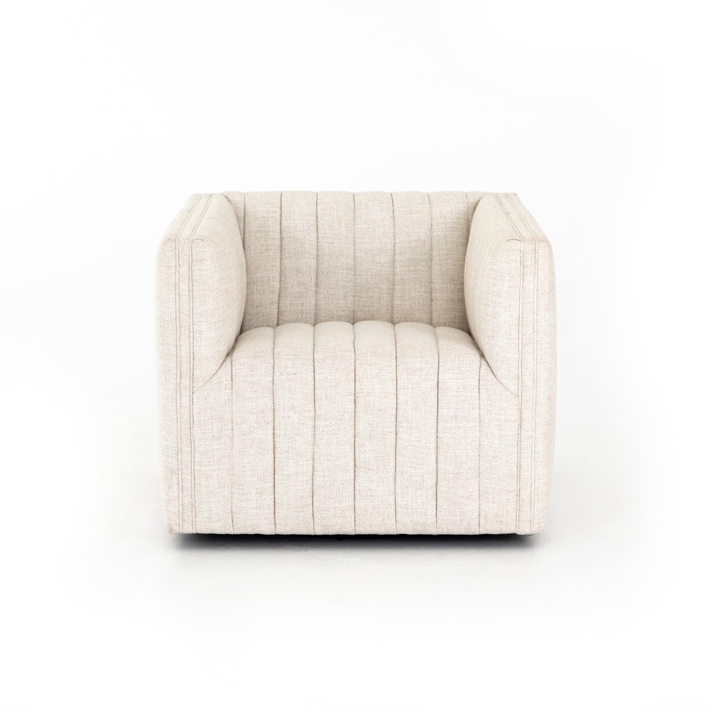 Augustine Swivel Chair in Various Colors