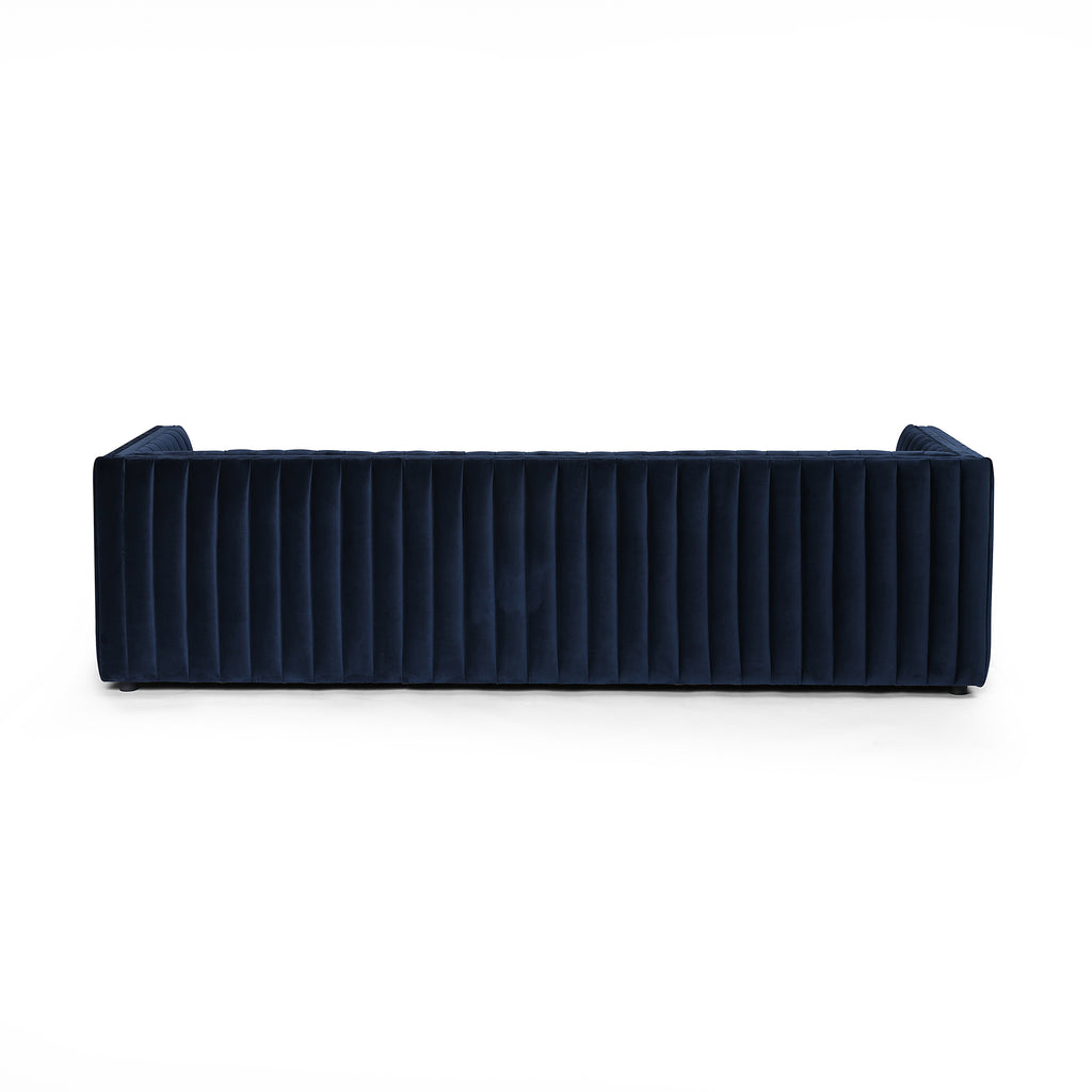 Augustine Sofa in Sapphire Navy