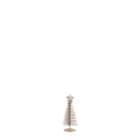 Treasure Mountain Champagne Christmas Tree in Various Sizes