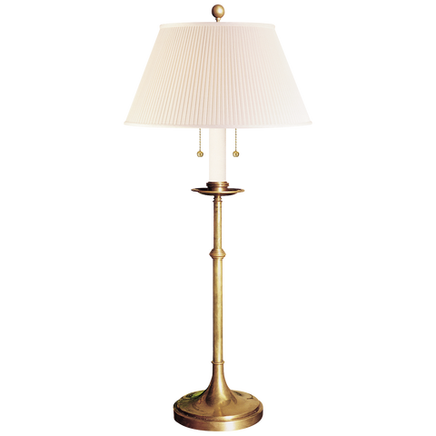 Dorchester Club Table Lamp by Chapman & Myers