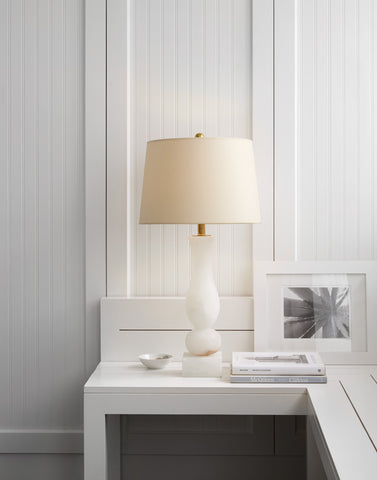 Contemporary Balustrade Table Lamp by Chapman & Myers