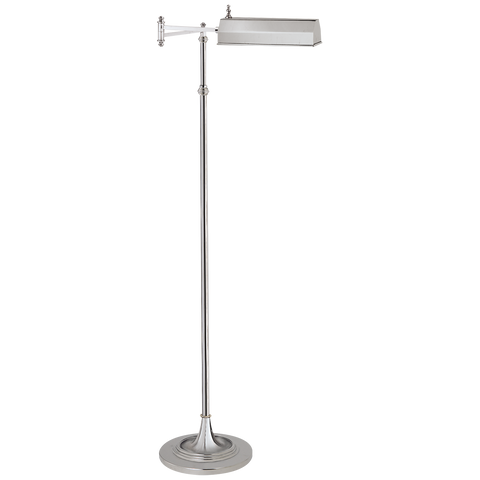 Dorchester Swing Arm Pharmacy Floor Lamp by Chapman & Myers