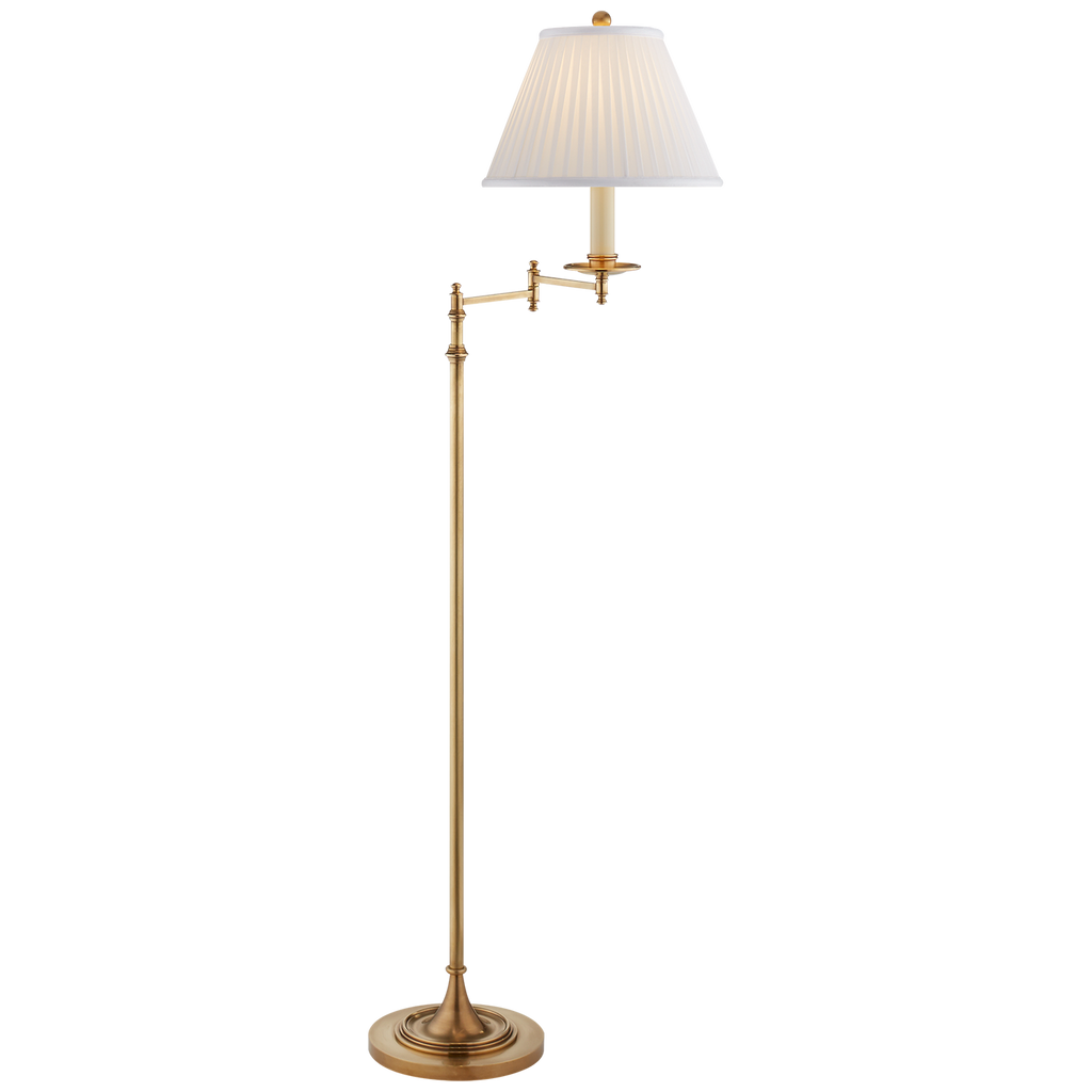 Dorchester Swing Arm Floor Lamp by Chapman & Myers