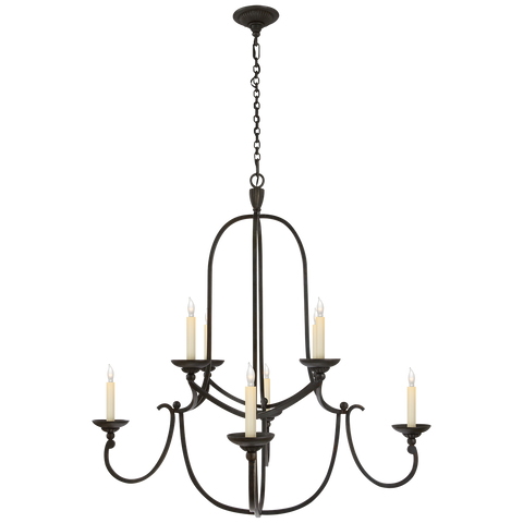Flemish Medium Round Chandelier by Chapman & Myers