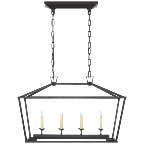 Darlana Small Linear Lantern by Chapman & Myers