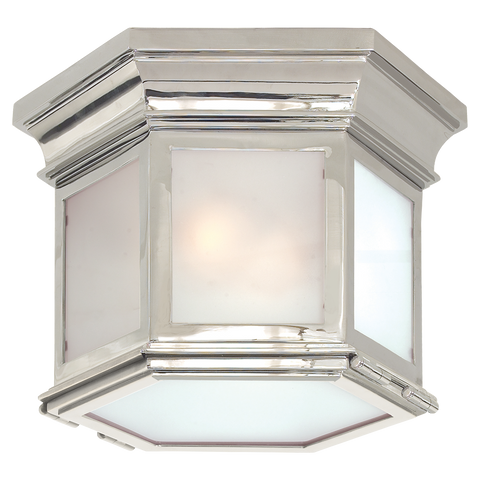Small Club Hexagonal Flush Mount by Chapman & Myers