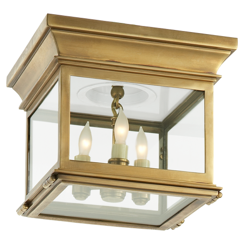 Small Club Square Flush Mount by Chapman & Myers