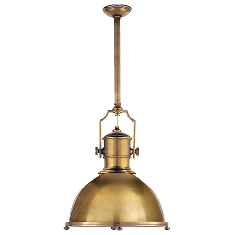 Country Industrial Large Pendant by Chapman & Myers