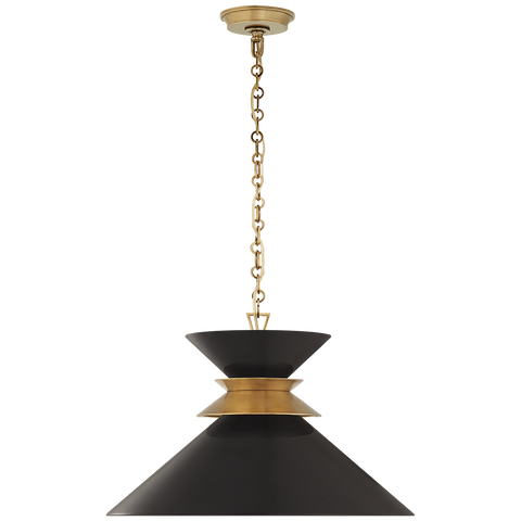Alborg Large Stacked Pendant by Chapman & Myers