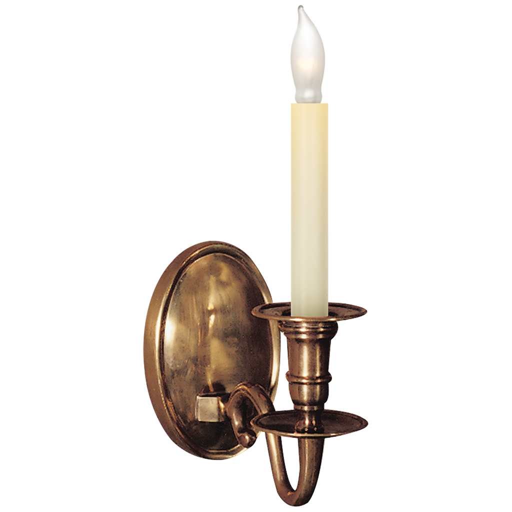 Grosvenor House Single Sconce by Chapman & Myers