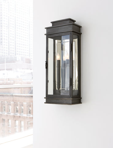 Linear Lantern Tall by Chapman & Myers