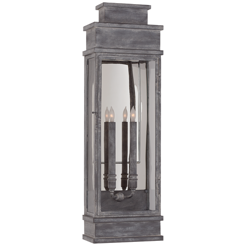 Linear Large Wall Lantern by Chapman & Myers