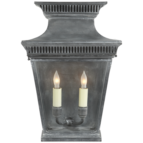 Elsinore Medium 3/4 Wall Lantern by Chapman & Myers
