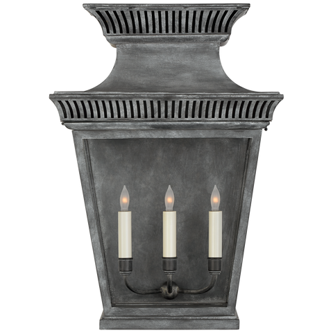 Elsinore Large 3/4 Wall Lantern by Chapman & Myers