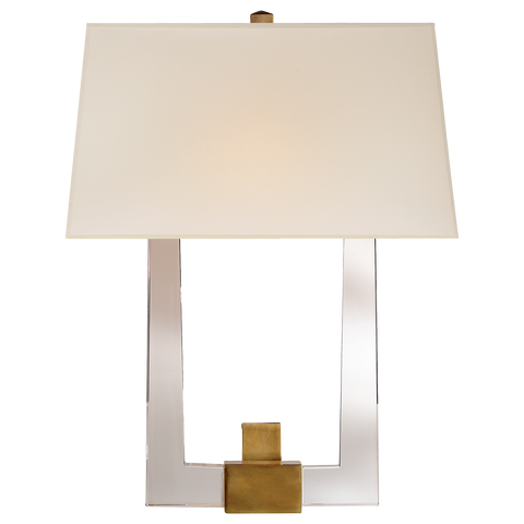 Edwin Double Arm Sconce by Chapman & Myers
