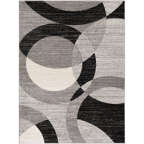 Chester CHE-2326 Rug in Medium Grey & Black by Surya