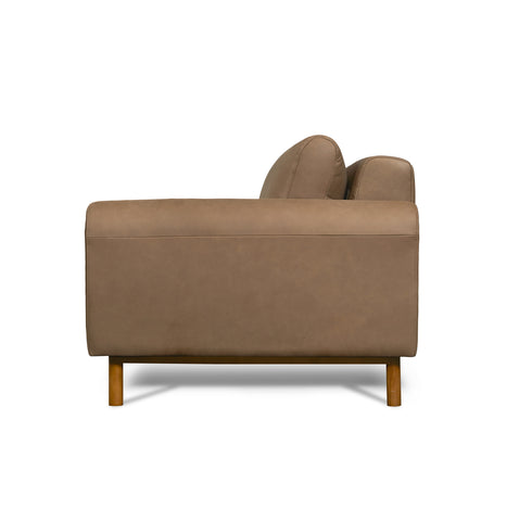 Chica Leather Sofa in Mocha