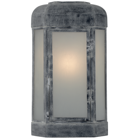 Dublin Small Faceted Sconce by Chapman & Myers