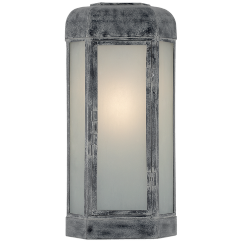Dublin Large Faceted Sconce by Chapman & Myers