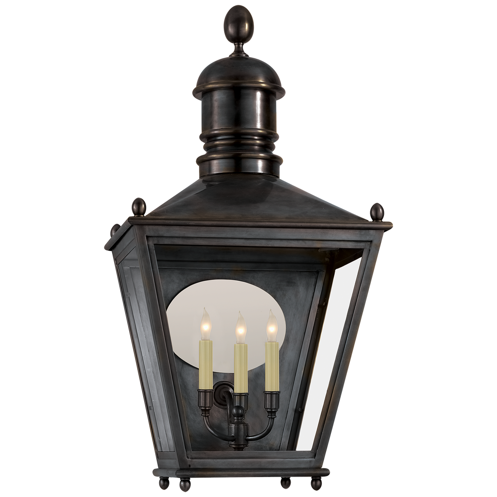 Sussex Large 3/4 Lantern by Chapman & Myers