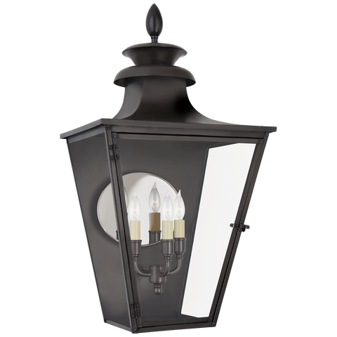 Albermarle Medium 3/4 Wall Lantern by Chapman & Myers