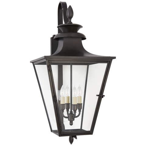 Albermarle Medium Bracketed Wall Lantern by Chapman & Myers
