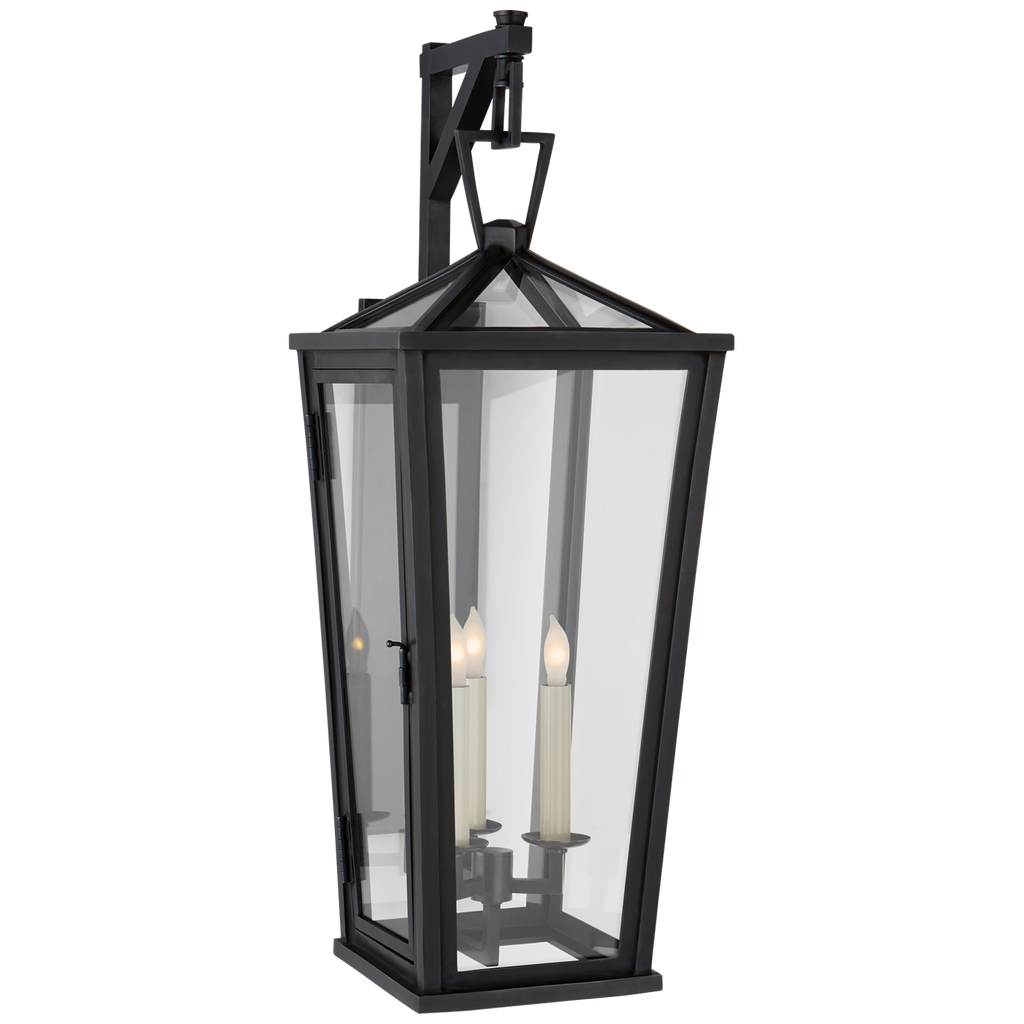 Darlana Medium Tall Bracketed Wall Lantern by Chapman & Myers