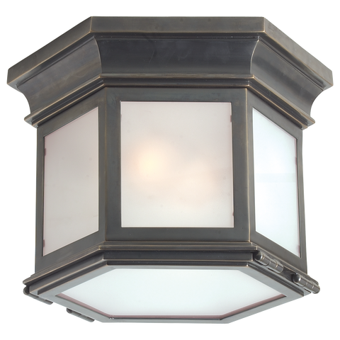 Club Small Hexagonal Flush Mount by Chapman & Myers