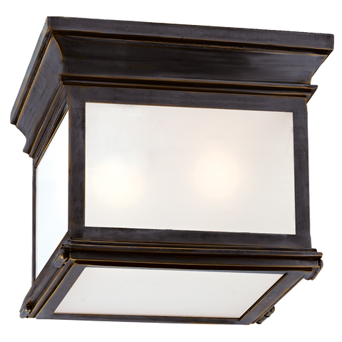 Club Small Square Flush Mount by Chapman & Myers