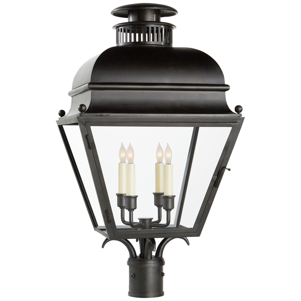 Holborn Medium Post Light by Chapman & Myers