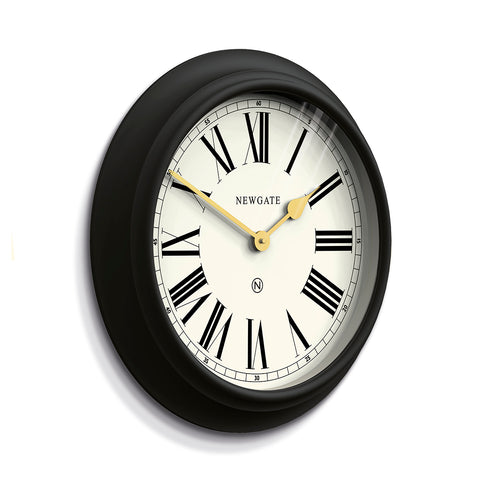 Chocolate Shop Wall Clock - Cream