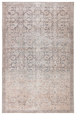 Atkins Indoor/ Outdoor Trellis Peach/ Blue Rug by Jaipur Living