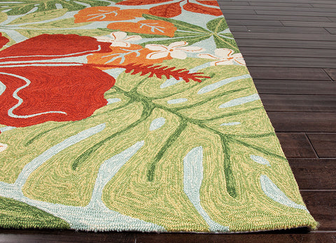 ... Coastal Living Collection Luau Rug In Dream Blue Design By Jaipur