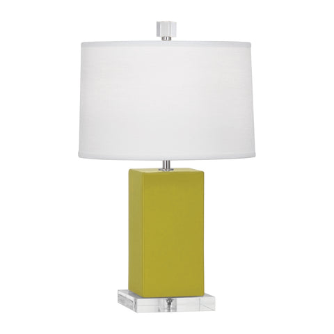 Harvey Accent Lamp in Various Finishes design by Robert Abbey