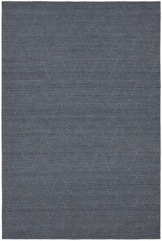 Ciara Collection Hand-Woven Area Rug in Blue & Grey design by Chandra rugs