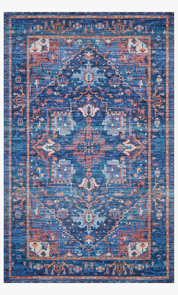 Cielo Rug in Blue & Multi by Justina Blakeney for Loloi
