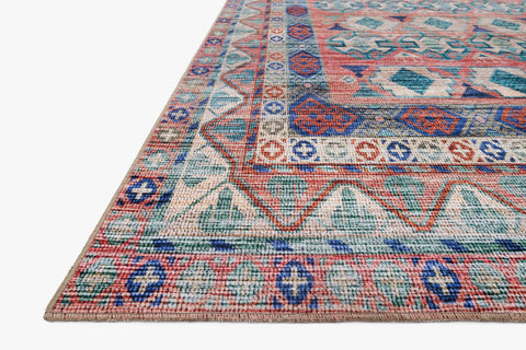 Cielo Rug in Terracotta & Multi by Justina Blakeney for Loloi
