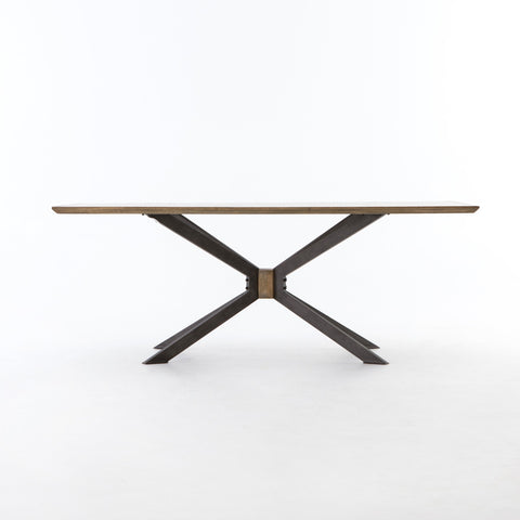 Spider Dining Table in Sandy Oak by BD Studio