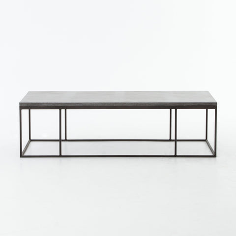 Harlow Small Coffee Table in Gunmetal by BD Studio