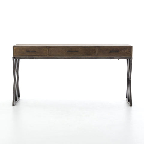 Sampson Desk in Light Grey Oak by BD Studio