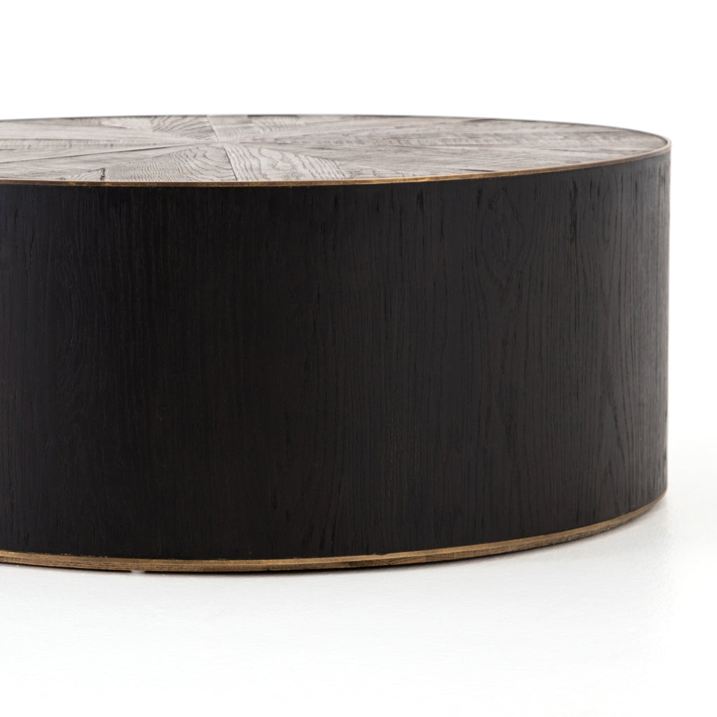 Perry Coffee Table In Ebony