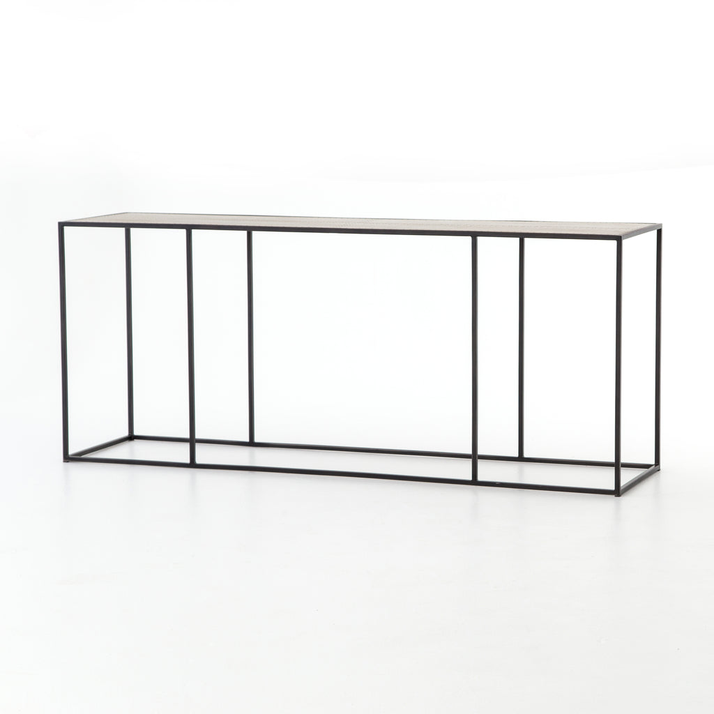 Phillip Console Table In Dark Antique Bronze