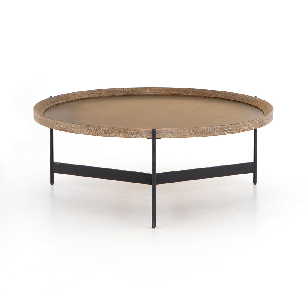 Nathaniel Coffee Table In Light Burnt Oak By BD Studio